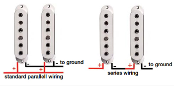 guitar wiring series vs parallel explained guitar wiring series parallel