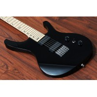 "OCTAVIA - 6-String, Wide Neck (52mm), 25.5"" Scale, Hipshot, Black"