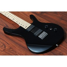 "OCTAVIA - 6-String, Wide Neck Guitar (52mm), 25.5"" Scale, Black"
