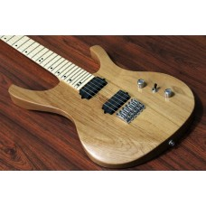 "OCTAVIA - 6-String, Wide Neck (52mm), 25.5"" Scale, Hipshot, Natural"