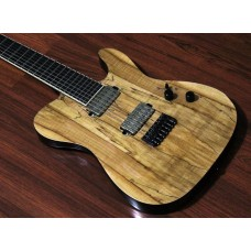 "SALVUS - 7-string, 26.5"" Scale, Hipshot, Natural"