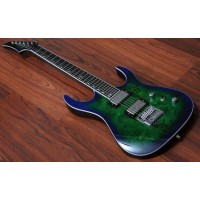 "MERUS - 6-String, 25.5"" Scale, Evertune, Transparent Green"
