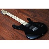 "OCTAVIA - 6-String, Wide Neck Guitar (52mm), 25.5"" Scale, Black"