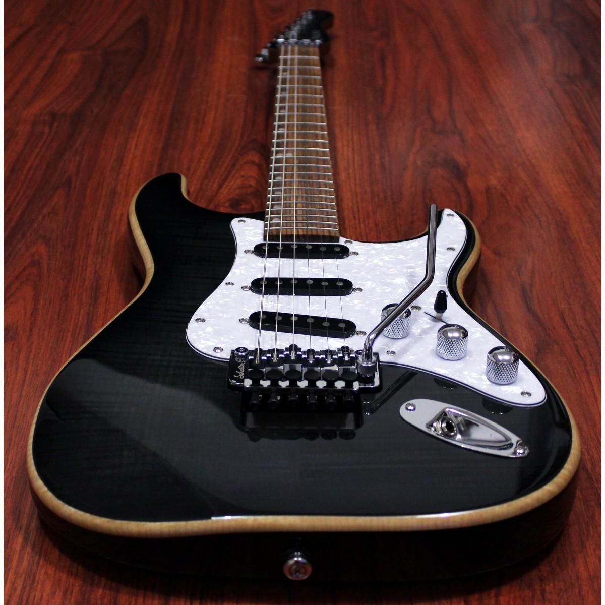 clarus 6 string scalloped fretboard guitar. Black Bedroom Furniture Sets. Home Design Ideas