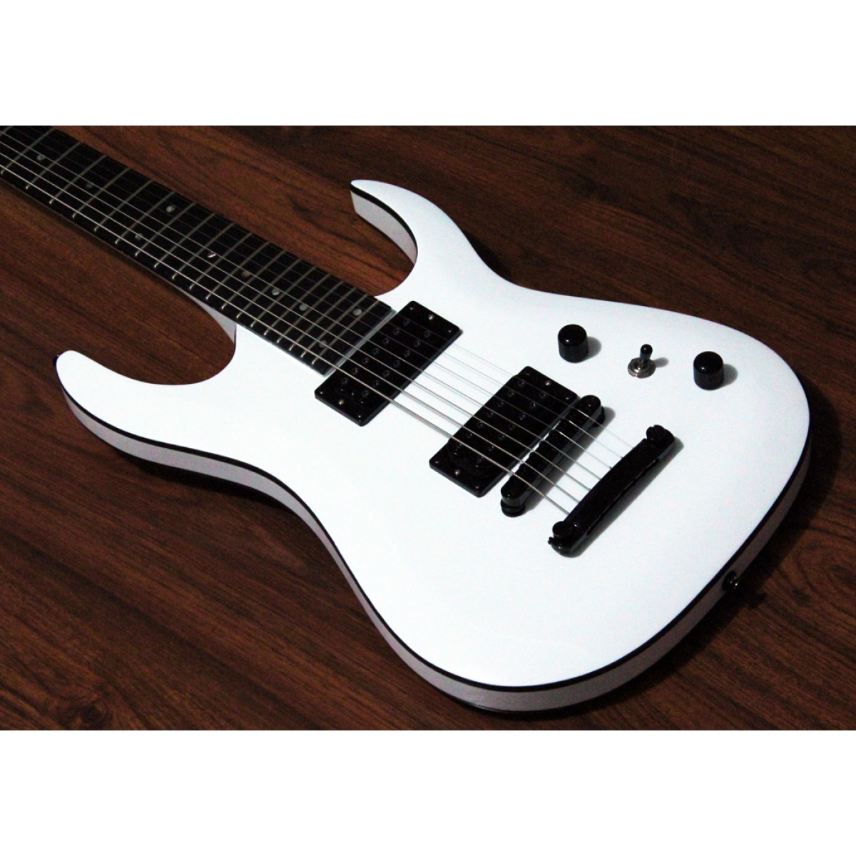 halo merus baritone 7 string tom white. Black Bedroom Furniture Sets. Home Design Ideas