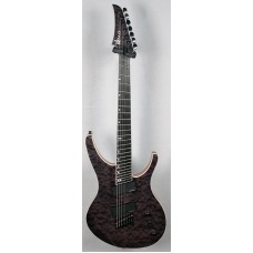 "OCTAVIA - 7-string, 27""-25.5"" Multi-Scale, Halo Single Saddle, Transparent Black"
