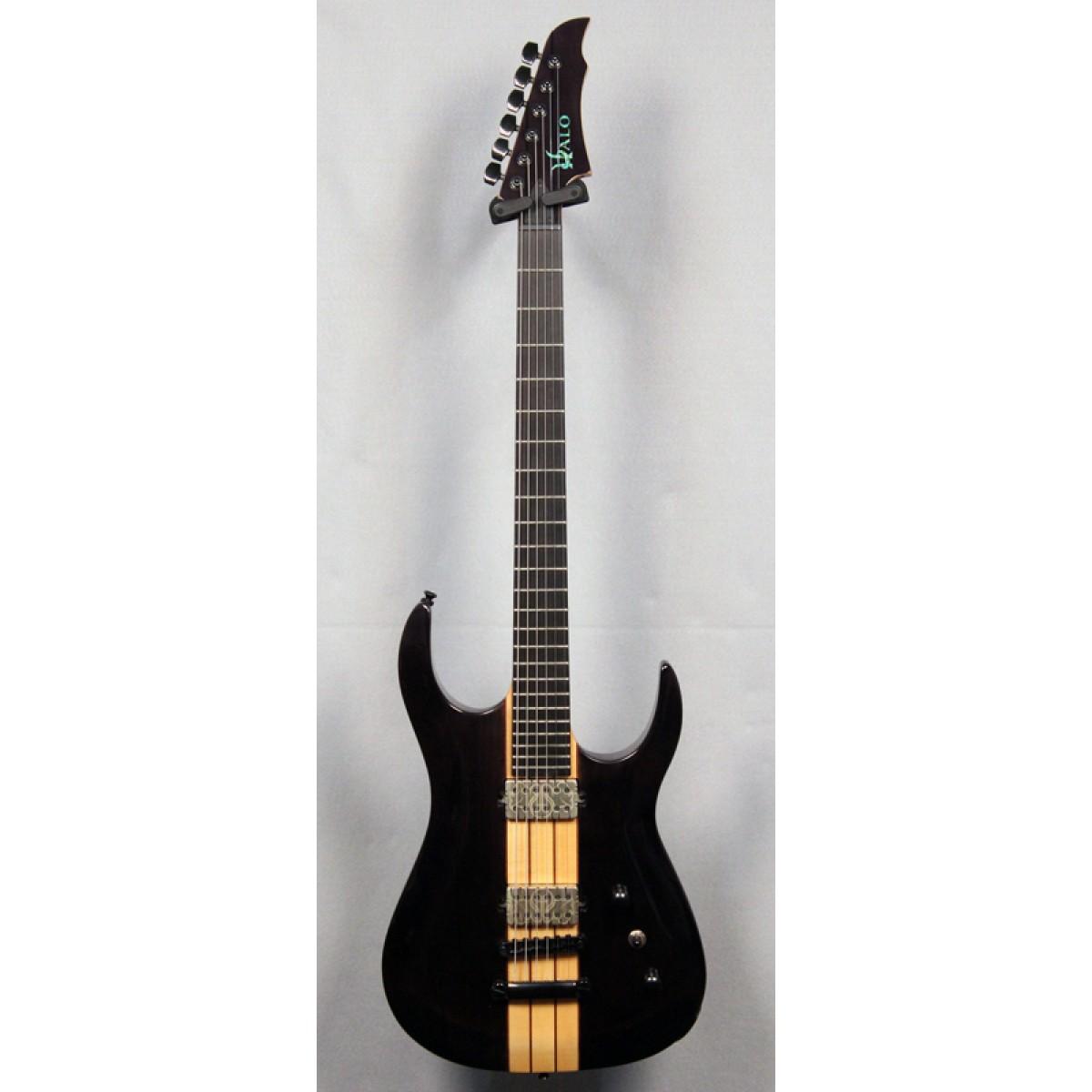 halo guitars merus 6 string 27 scale bkps tune o matic. Black Bedroom Furniture Sets. Home Design Ideas