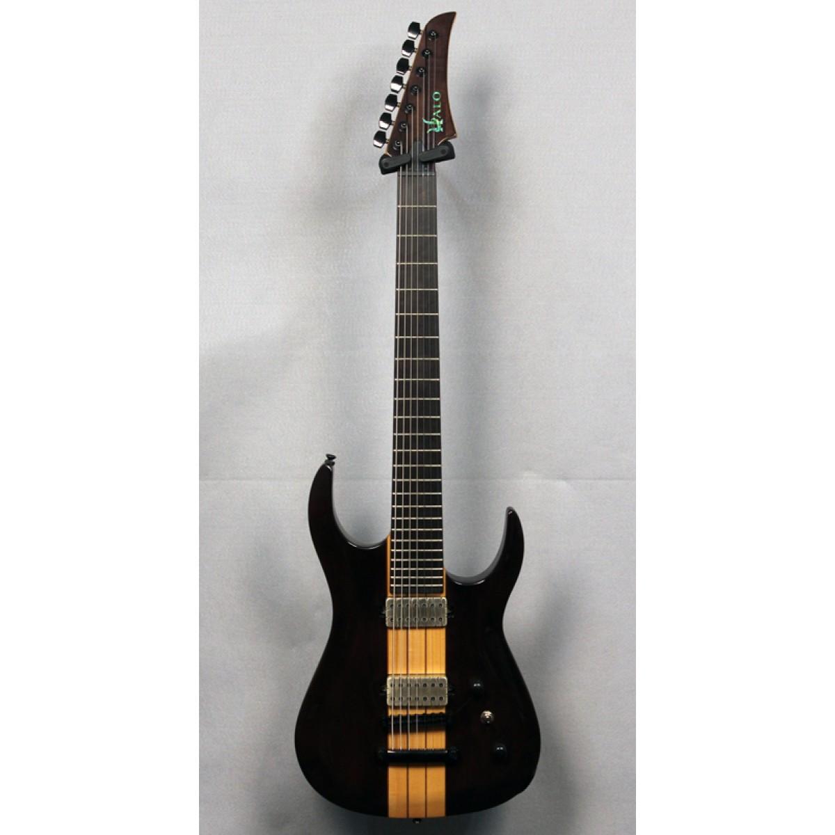 halo guitars merus 7 string 27 scale tune o matic. Black Bedroom Furniture Sets. Home Design Ideas