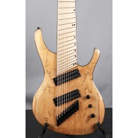 "OCTAVIA - 10-string, 32""-28"" Multi-Scale, Halo Single Saddle, Natural"