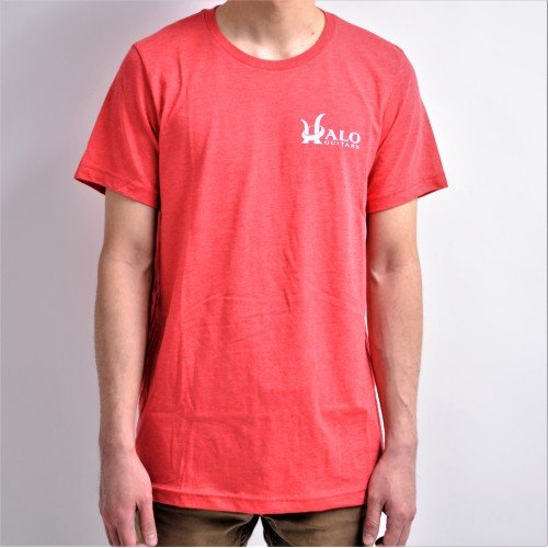 Red Halo Guitars Tee Shirt